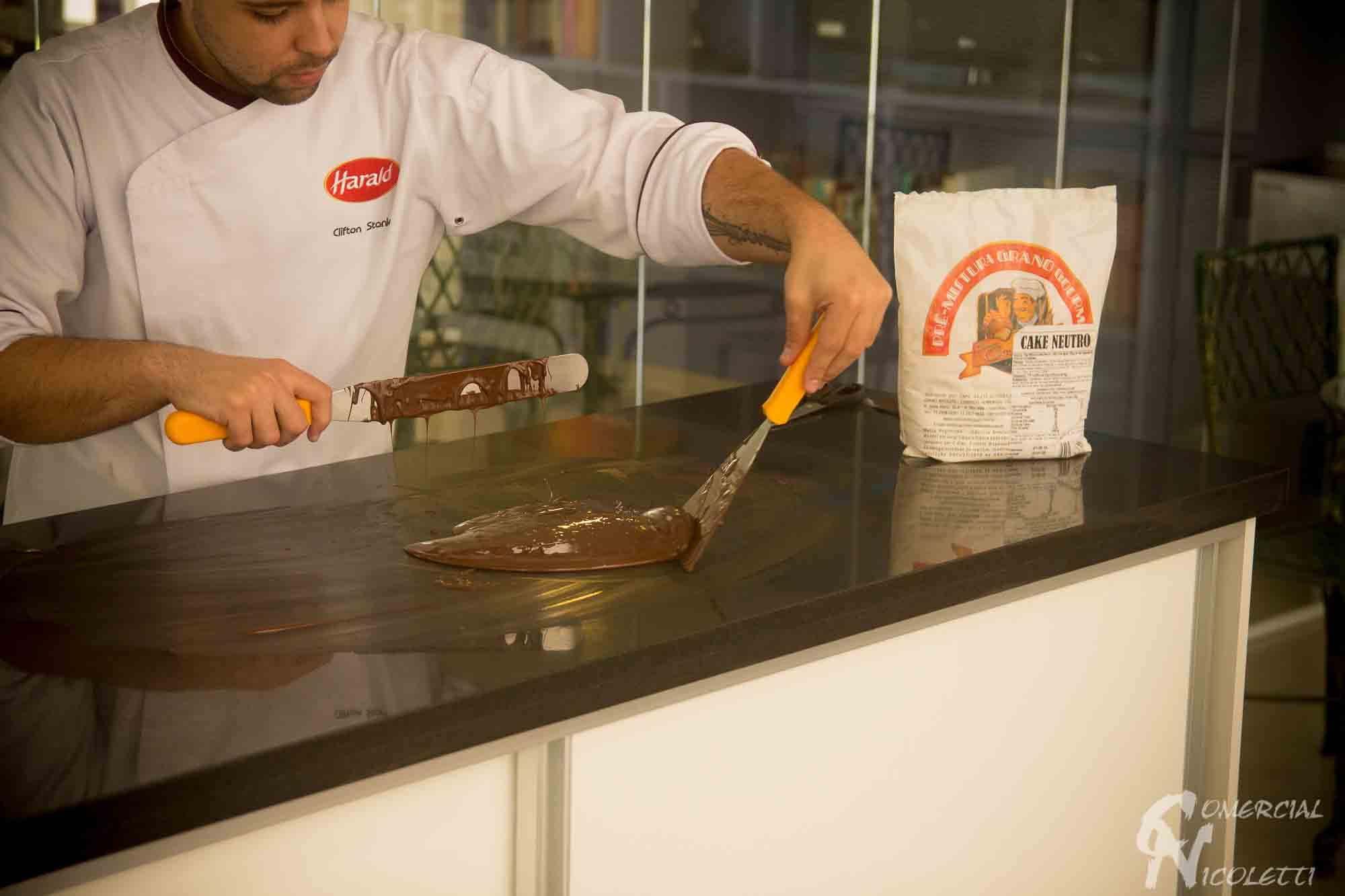 Parceria Grano Gourmet, Comercial Nicoletti e Harald Chocolates